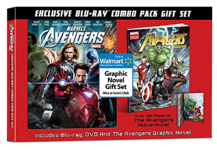 Avengers DVD/Blu Ray and Graphic Novel Combo