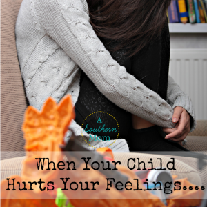 Child hurt your feelings fb