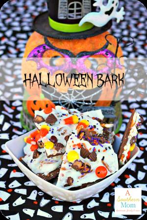 Halloween Candy Bark sidebar