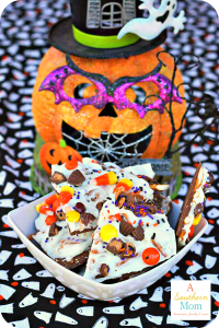 Halloween Bark: Leftover Halloween Candy? Make This!