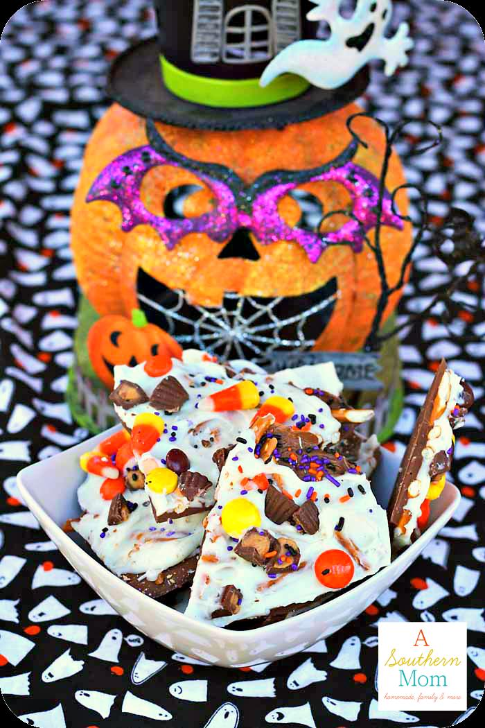 Halloween Candy Bark2