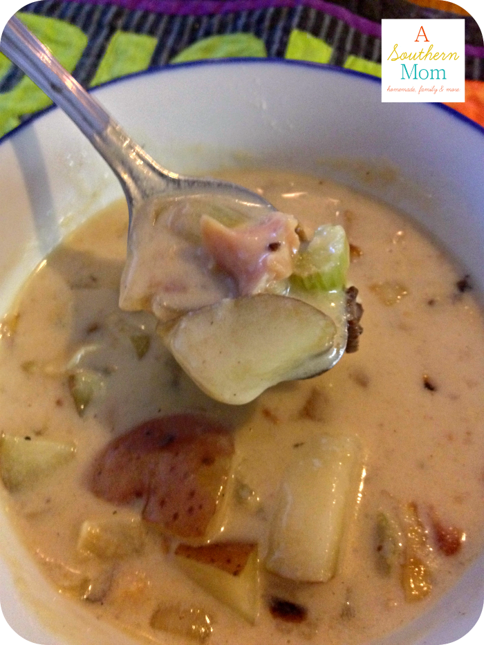 Homemade Clam Chowder 2