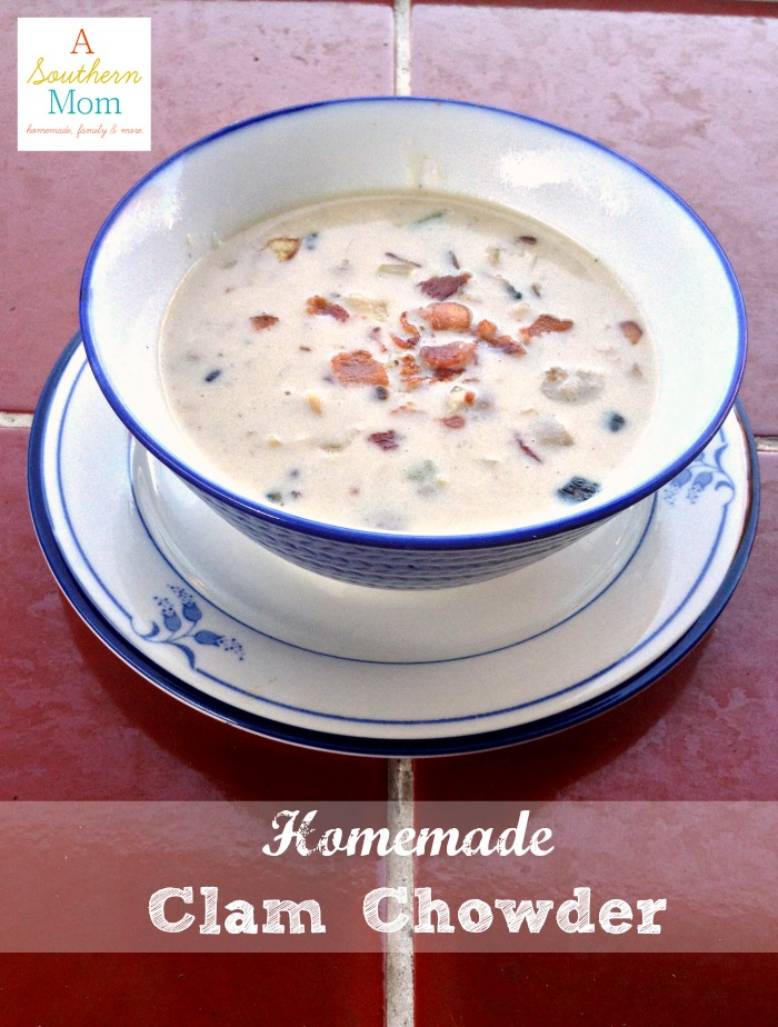 Homemade Clam Chowder