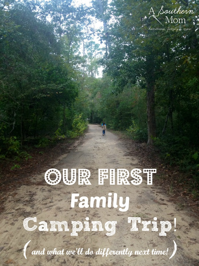 camping tips from our first family camping trip