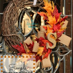 Fall Wreath Pin