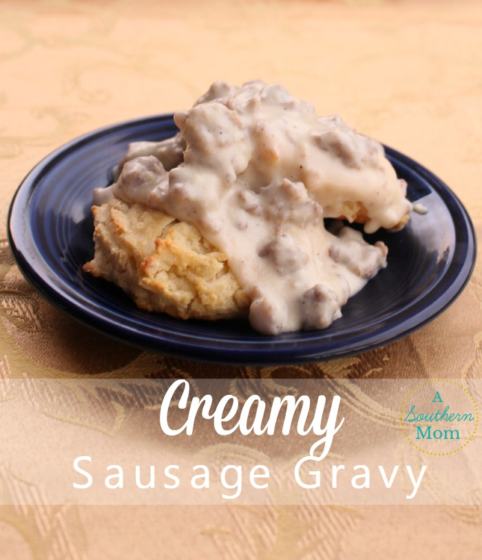 creamy sausage gravy