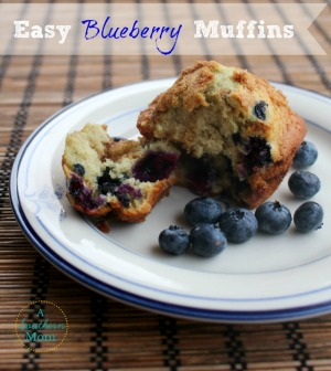 easy blueberry muffins sidebar