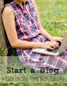 Start Your Own Blog Today!