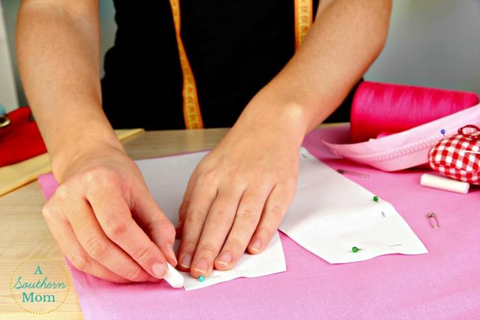 sewing- pinning