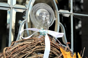 wreath suction cup