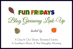Fun Fridays Blog Giveaway Linky Party! Link a Giveaway – Enter a Giveaway!