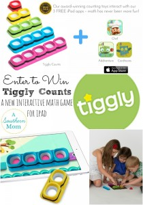 Tiggly Counts – A New Interactive Math Toy for iPad | Enter to WIN Tiggly Counts!