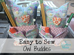 Easy to Sew Owl Buddies – Great Beginner Project and Stash Buster!