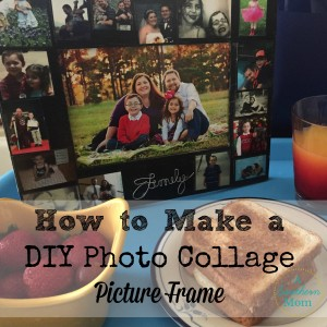 DIY Photo Collage Picture Frame FB
