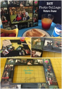 DIY Photo Picture Collage Frame Pinterest