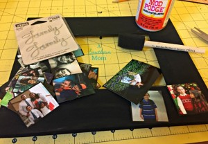 Diy Picture frame collage