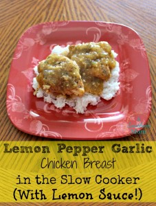 Lemon Pepper Garlic Chicken