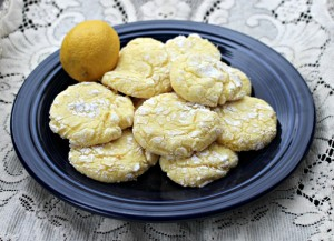 Powdered Sugar Lemon Cake Cookie Recipe