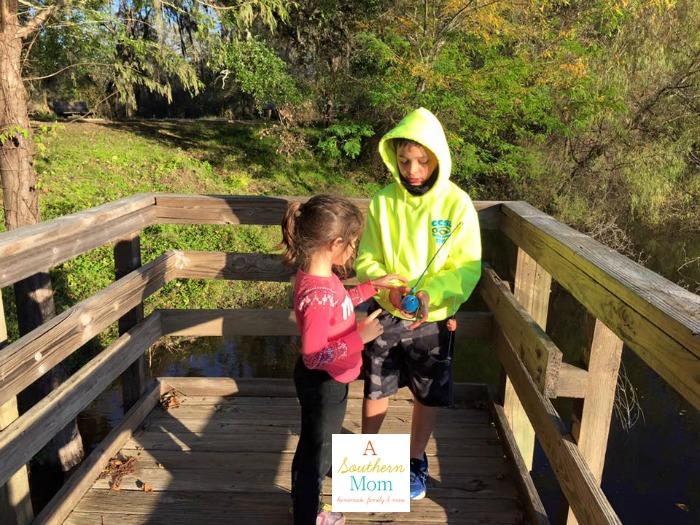 Cub Scouts Fishing
