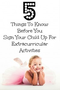 5 Things To Know Before You Sign Your Child Up For Extracurricular Activities