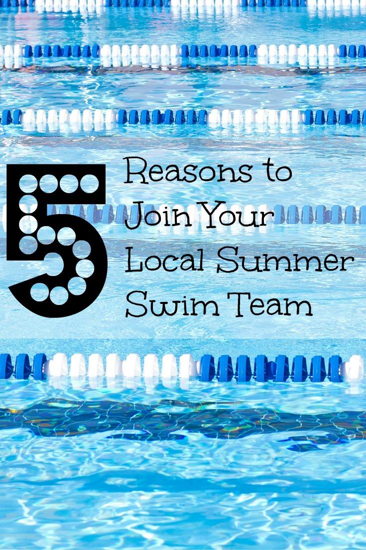Join Summer Swim Team Pinterest