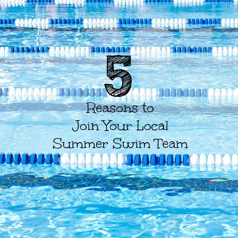 Join summer Swim Team FB