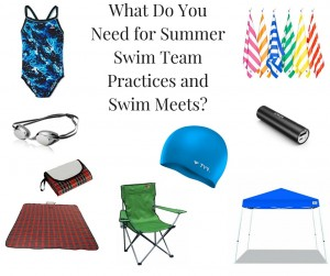 What Do You Need for Summer Swim Team Practices and Swim Meets?