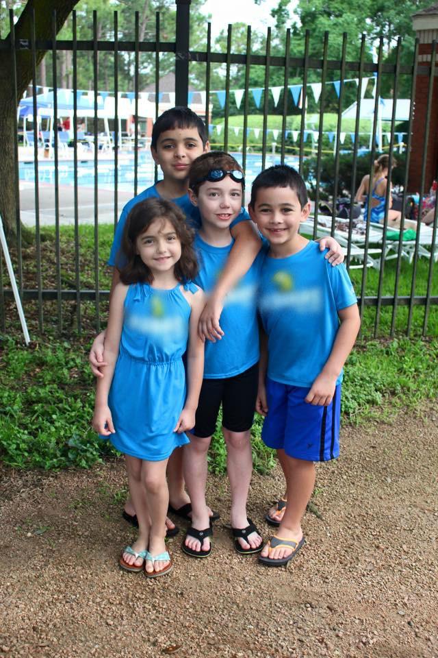 swim team team family