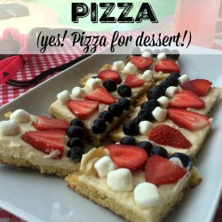 dessert pizza recipe