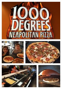 1000 Degrees Neopolitan Pizza – Make Your Own Pizza!
