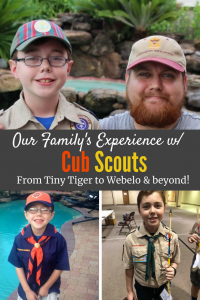 Our Family's Experience with #Scouting