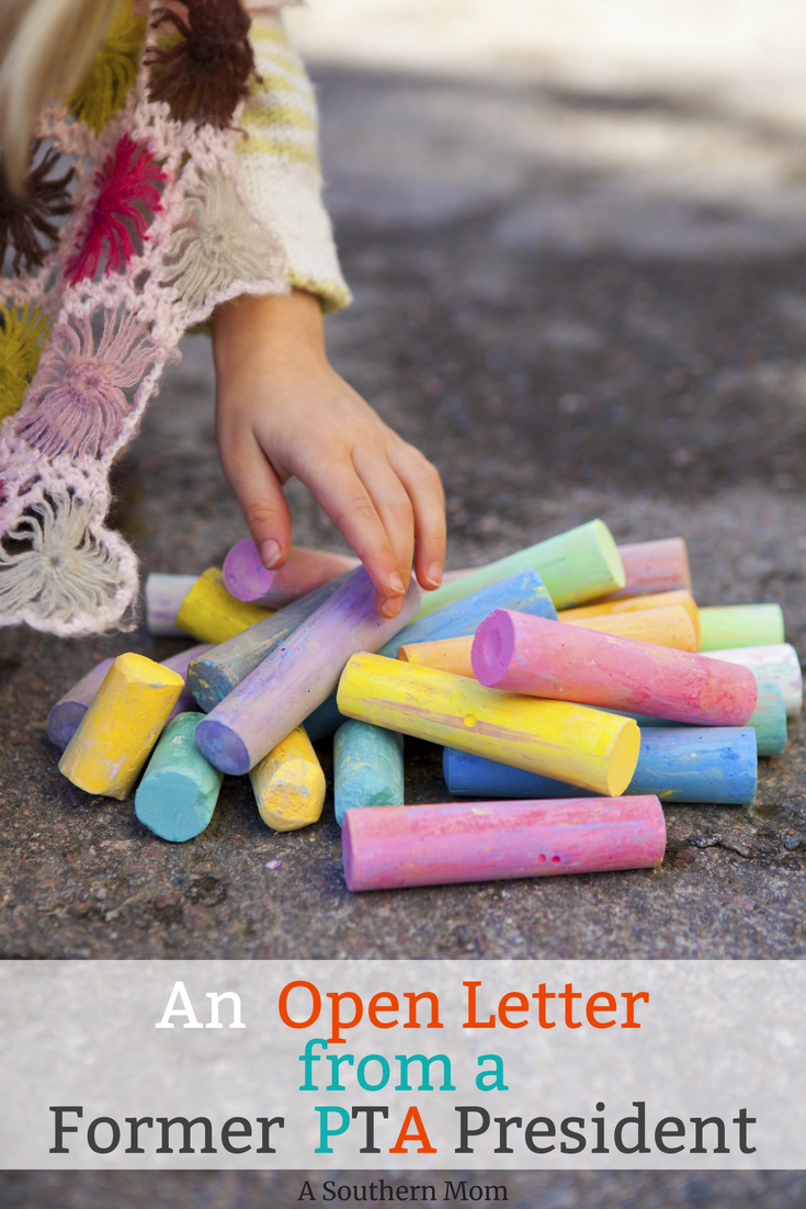 An Open Letter From a Former PTA President - A Southern Mom